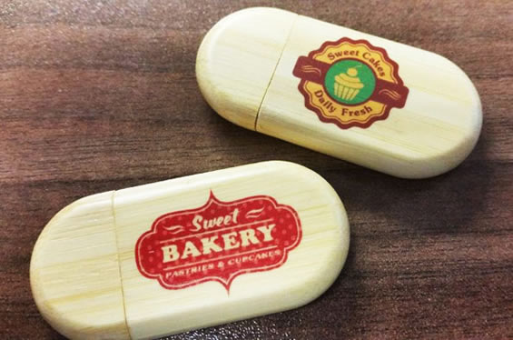 branded bamboo usb flash drives