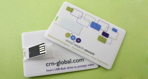 Card USB Memory Sticks for Conferences